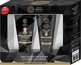 Parfumuri și produse cosmetice Set - Natura Siberica (sh/mask/150ml + ash/gel/150ml)