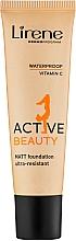 Parfumuri și produse cosmetice Fond de ten - Lirene Active Beauty Matt Foundation Ultra-Resistant