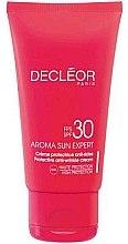 Parfumuri și produse cosmetice Cremă protectoare de față SPF 30 - Decleor Creme Protectrice Anti-Rides SPF30