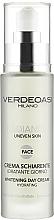 Parfumuri și produse cosmetice Cremă hidratantă de zi cu efect de albire - Verdeoasi Radiance Whitening Day Cream Hydrating