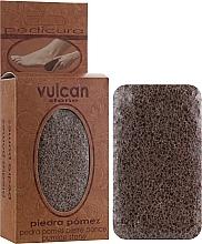 Parfumuri și produse cosmetice Piatră ponce, 84x44x32 mm, Terracotta Brown - Vulcan Pumice Stone