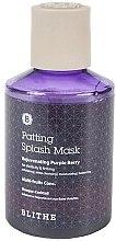 Parfumuri și produse cosmetice Mască de față - Blithe Rejuvenating Purple Berry Splash Mask