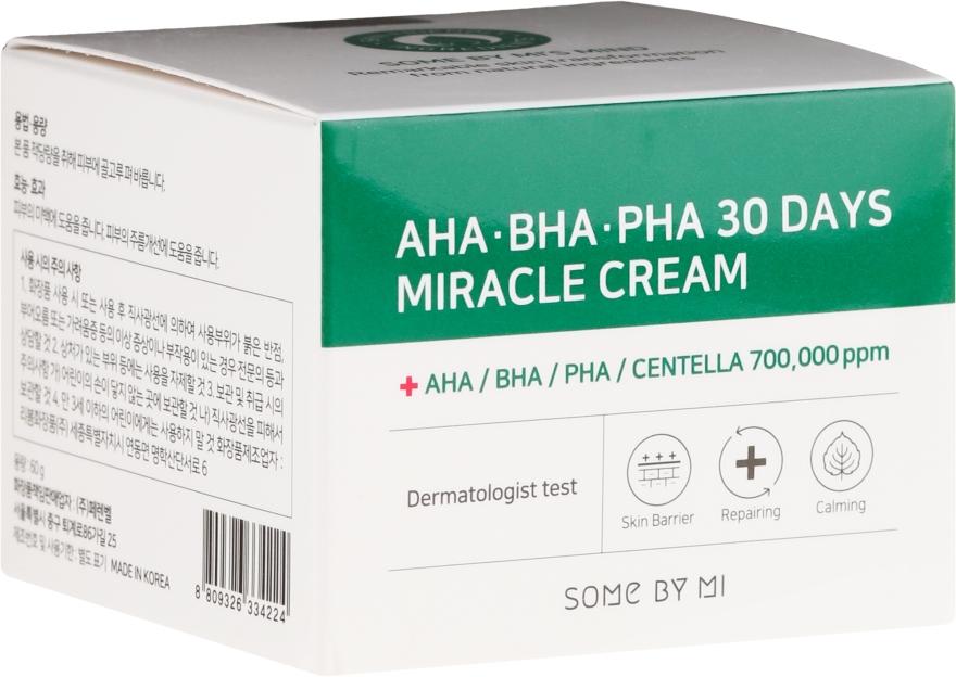 Cremă de față - Some By Mi AHA/BHA/PHA 30 Days Miracle Cream
