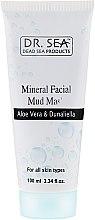 Parfumuri și produse cosmetice Mască din argilă minerală cu aloe vera și dunaliella - Dr. Sea Mineral Mud Mask