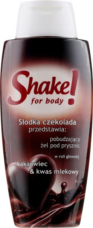 "Gel de duș ""Ciocolată"" - Shake for Body Shower Gel Chocolate"
