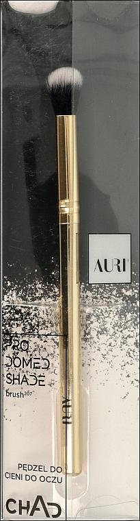 Pensulă pentru farduri de pleoape, 207 - Auri Chad Pro Domed Shade Brush