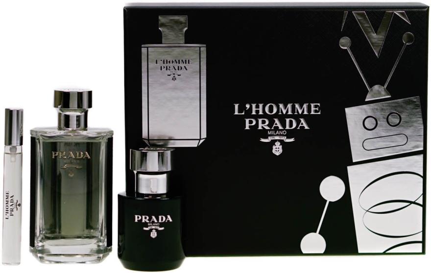 Prada L'Homme Prada - Set (edt/100ml + s/g/100ml + edt/mini/10ml) — Imagine N1