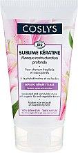Parfumuri și produse cosmetice Mască cu crin organic și cheratină pentru păr - Coslys Sublime Keratine Mask