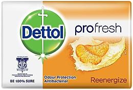 Parfumuri și produse cosmetice Săpun antibacterian cu aromă de mandarine - Dettol Anti-bacterial Re-Energise Bar Soap