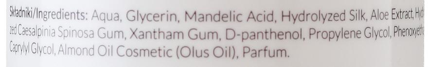 Tonic pentru față cu acid de migdale - Apis Professional Cleansing Hydrogel Toner With Mandelic Acid — Imagine N3