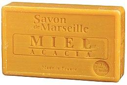 "Parfumuri și produse cosmetice Săpun natural ""Miere și salcâm"" - Le Chatelard 1802 Soap Miel & Acacia"