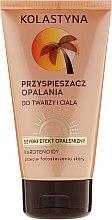 Parfumuri și produse cosmetice Accelerator de bronzare pentru corp - Kolastyna Sun Tan Accelerator