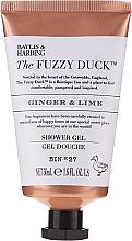 Set - Baylis & Harding The Fuzzy Duck Men's Ginger & Lime Slipper Set (bath/crystal/100g + soap/100g + sh/gel/50ml + ash/balm/50ml + slippers/1pcs) — Imagine N5