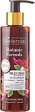 Lăptișor de curățare pentru față - Bielenda Botanic Formula Pomegranate Oil + Amaranth Cleansing Milk — Imagine N1