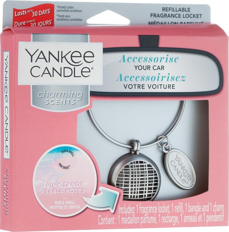 Odorizant pentru maşină - Yankee Candle Pink Sands Linear — Imagine N1