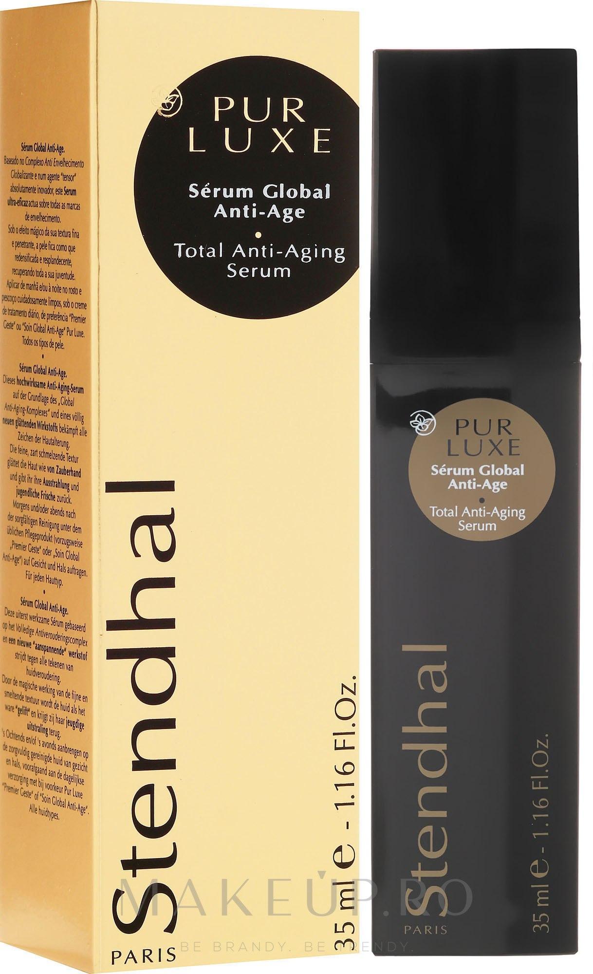 Ser facial - Stendhal Pur Luxe Total Anti-Aging Serum — Imagine 35 ml