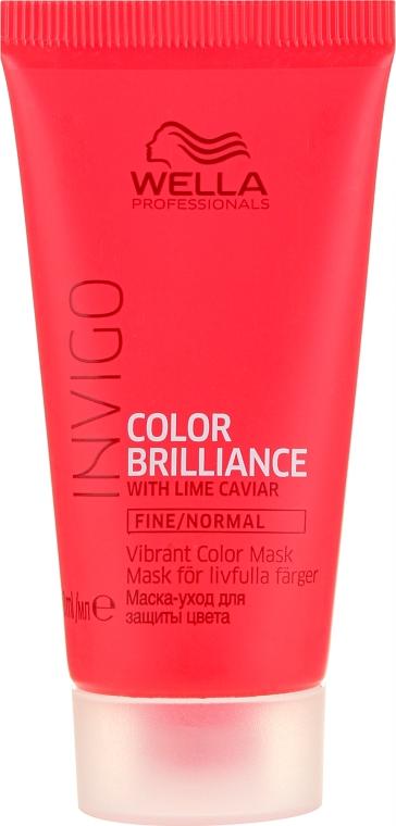 Mască de păr - Wella Professionals Invigo Color Brilliance Mask