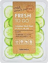 Parfumuri și produse cosmetice Mască de țesut cu extract de castravete - Tony Moly Fresh To Go Mask Sheet Cucumber