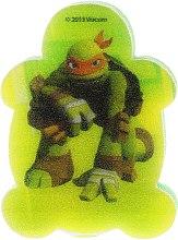 """Parfumuri și produse cosmetice Burete de baie pentru copii """"Testoasele Ninja"""" Michelangelo 2 - Suavipiel Turtles Bath Sponge"""