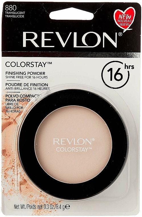 Pudră compactă rezistentă - Revlon Colorstay Finishing Pressed Powder — Imagine N4