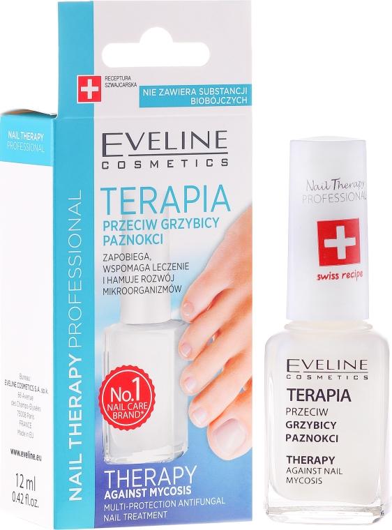 Loțiune antifungică pentru unghii - Eveline Cosmetics Nail Polish for Nail Fungus Feet & Hands Mykose