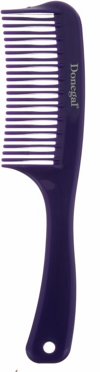 Pieptene, 20.4 cm, violet - Donegal Hair Comb