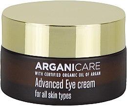 Parfumuri și produse cosmetice Cremă cu efect de netezire pentru zona ochilor - Arganicare Shea Butter Advanced Eye Cream