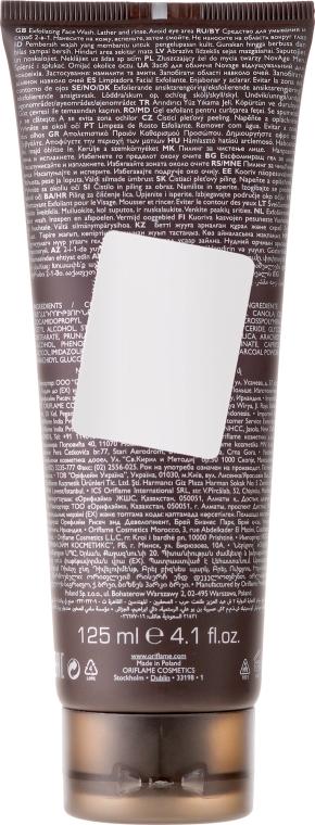Gel de curăţare purificator şi exfoliant 2 în 1 pentru bărbați - Oriflame NovAge Men Purifying & Exfoliating Cleancer — Imagine N2
