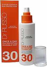 Parfumuri și produse cosmetice Spray hidratant de protecție solară - Dr. Russo Once A Day SPF30 Sun Protective Invisible Mist