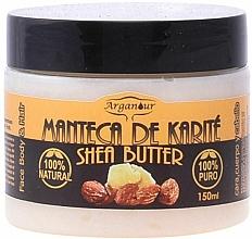 Parfumuri și produse cosmetice Unt de shea pentru față, corp și păr - Arganour Shea Butter Face, Body & Hair