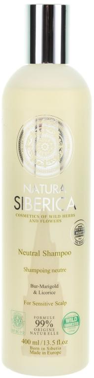 """Șampon pentru scalp sensibil """"Neutru"""" - Natura Siberica — Imagine N1"""