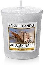 Parfumuri și produse cosmetice Lumânare aromatică - Yankee Candle Scented Votive Autumn Pearl