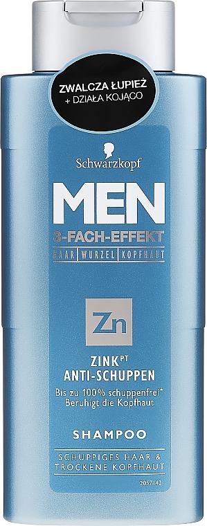 Șampon anti-mătreață - Schwarzkopf Men ZinkPT Anti-Schuppen Shampoo