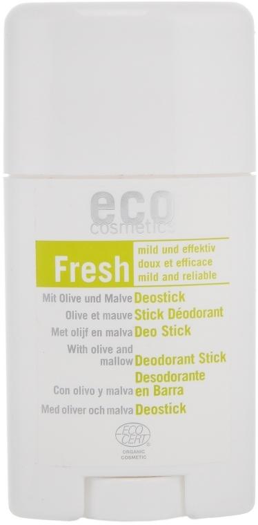 """Deodorant stick """"Frunze de măsline și Nalbă"""" - Eco Cosmetics — Imagine N1"""