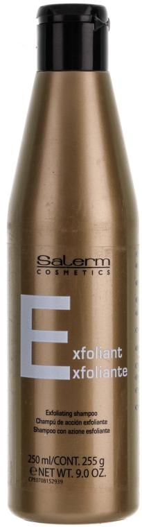 Șampon împotriva mătreții - Salerm Linea Oro Shampoo Especifico Caspa  — Imagine N1