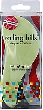 Parfumuri și produse cosmetice Perie de păr, verde deschis - Rolling Hills Detangling Brush Travel Size Light Green