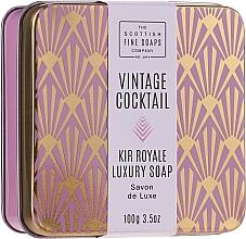 Parfumuri și produse cosmetice Săpun pentru mâini și corp - The Scottish Fine Soaps Company Vintage Cocktail Kir Royale Luxury Soap