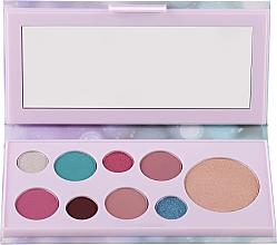 Parfumuri și produse cosmetice Paletă farduri de pleoape și iluminator - Avon Mark Pearlesque Treasure Palette For Eyes & Face