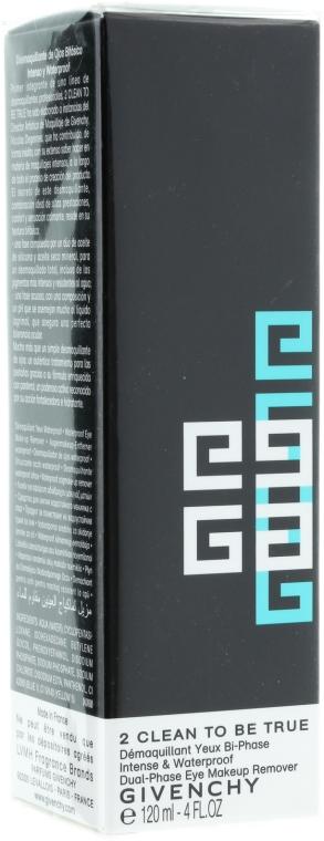 Demachiant pentru machiaj rezistent la apă 2 în 1 - Givenchy 2 Clean to Be True — Imagine N1