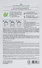 Mască de față - The Saem Natural Tea Tree Mask Sheet — Imagine N2