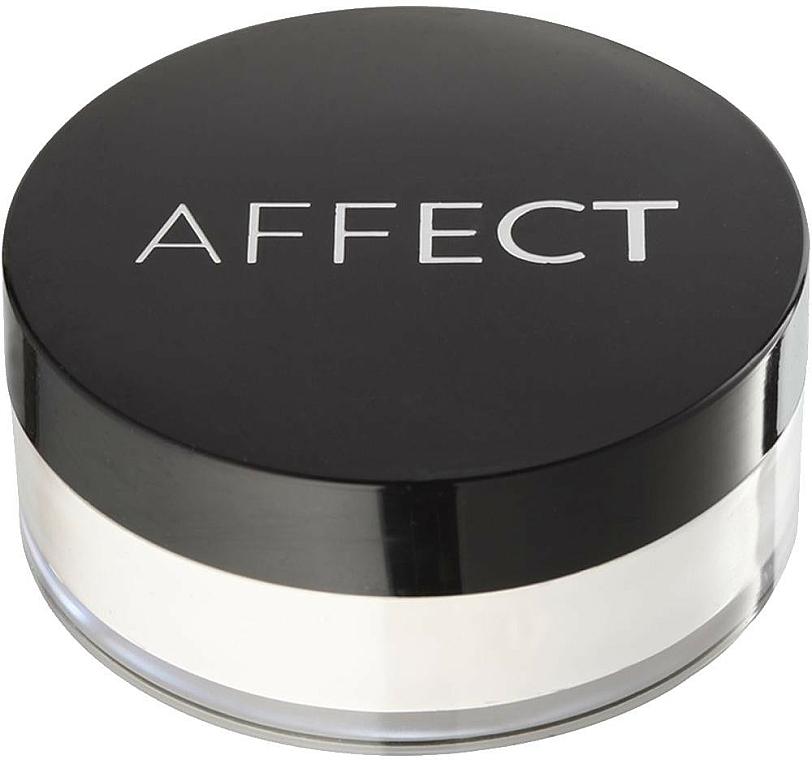 Pudră pulbere cu efect de strălucire - Affect Skin Luminizer Pearl Powder