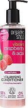 """Parfumuri și produse cosmetice Balsam de păr """"Zmeură și fructe de padure Acai"""" - Organic Shop Raspberry And Acai Conditioner"""