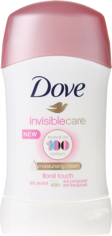 Antiperspirant-Stick - Dove Invisible Care Floral Touch Deodorant Stick