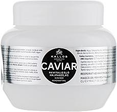 Parfumuri și produse cosmetice Mască cu extract de caviar negru pentru păr - Kallos Cosmetics Anti-Age Hair Mask