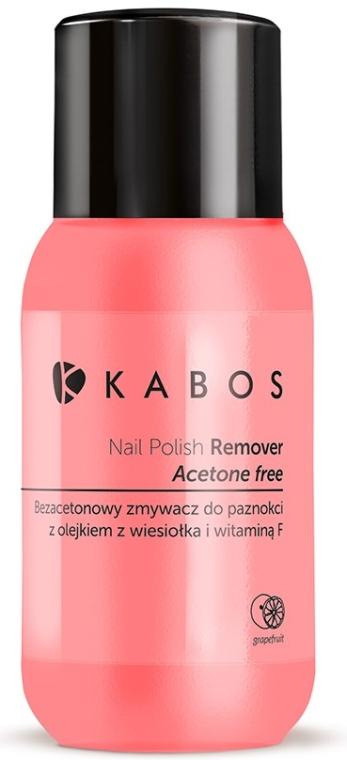 Soluție pentru îndepărtarea ojei - Kabos Nail Polish Remover — Imagine N1