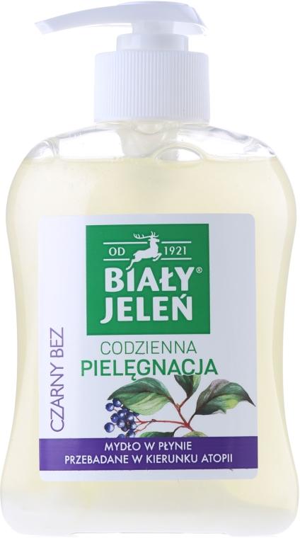 Săpun hipoalergenic cu extract de soc - Bialy Jelen Hypoallergenic Premium Soap Extract From Elderberry — Imagine N2