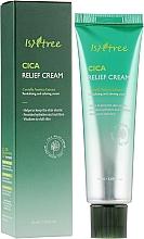 Parfumuri și produse cosmetice Cremă calmantă pentru față - IsNtree Cica Relief Cream
