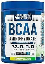"Parfumuri și produse cosmetice Nutriție sportivă ""Lămâie și Lime"" - Applied Nutrition BCAA Amino-Hydrate Lemon Lime"