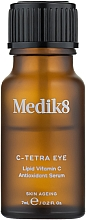 Parfumuri și produse cosmetice Ser de zi cu vitamina C pentru ochi - Medik8 C-Tetra Eye Lipid Vitamin C Antioxidant Serum