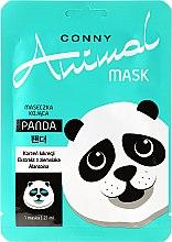 """Parfumuri și produse cosmetice Mască calmantă pentru față """"Panda"""" - Conny Animal Mask Panda"""
